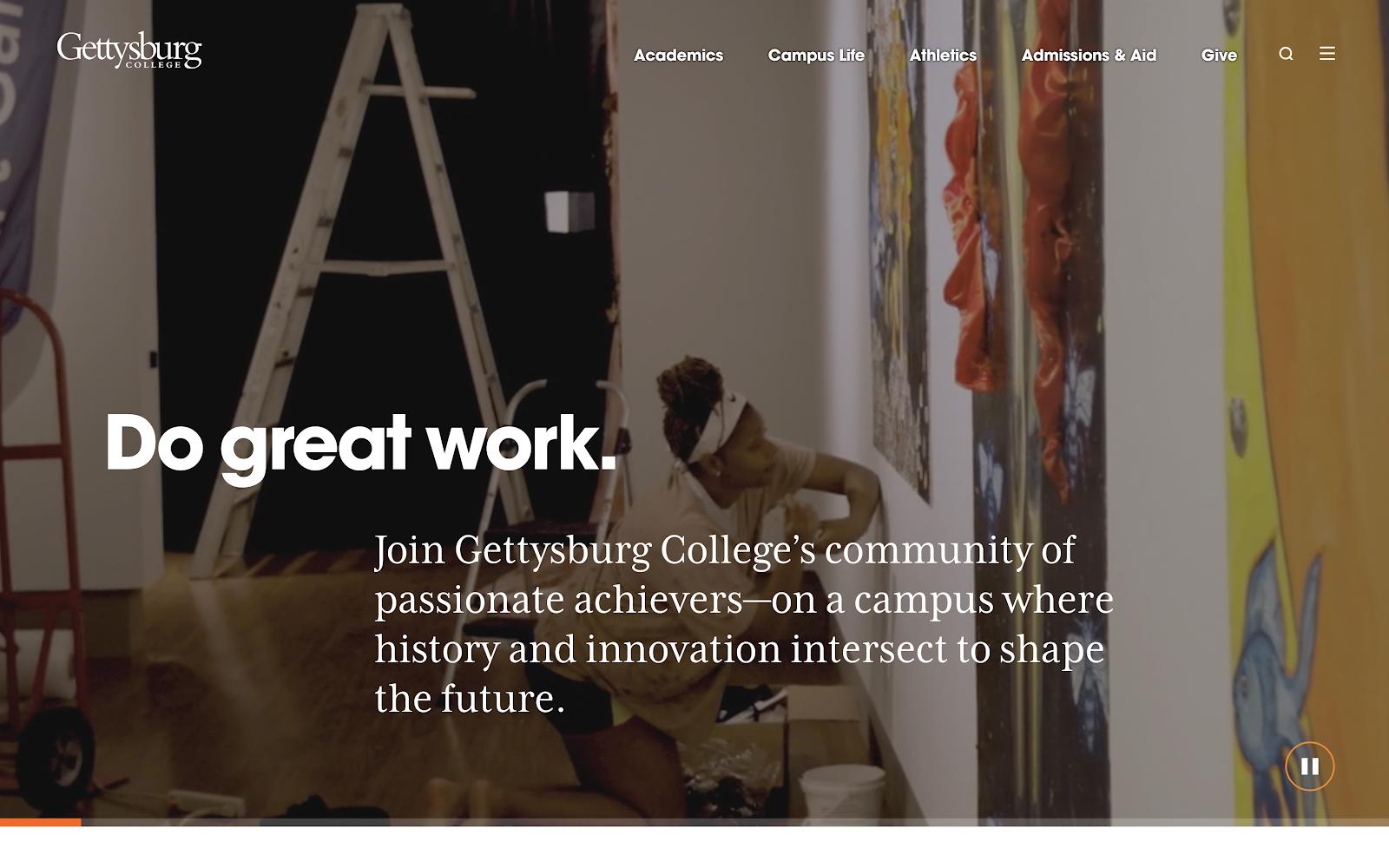 Gettysburg Homepage